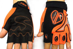 Bicycle Half Finger Racing Gloves pictures & photos