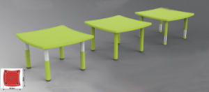 Kindergarten Classroom Furniture Kids Plastic Table Combined Table Set Hc-1801 pictures & photos