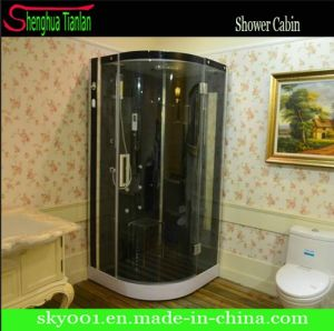 Low ABS Tray Wood Cushion New Steam Shower Room (TL-8894) pictures & photos