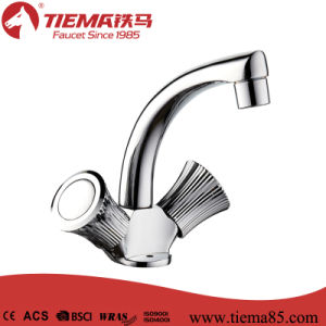 High Quality Modern Design Dual Handle Kitchen Faucet