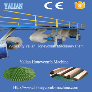 Full Automatic Paper Honeycomb Gluing and Laminating Unit