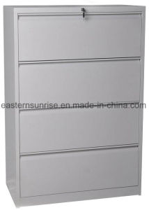 Four Drawer Office Use Metal Steel Iron Filing Cabinet pictures & photos
