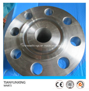ANSI B16.5 A182 F1 Alloy Steel Rtj Weld Neck Flange pictures & photos