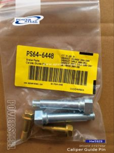 Hw5929-Caliper Guide Pin-Powersteel; for Buick Lacrosse 2008-2009buick Lucerne 2006-2011cadillac Dts 2006-2011chevrolet Colorado 2004-2008 pictures & photos
