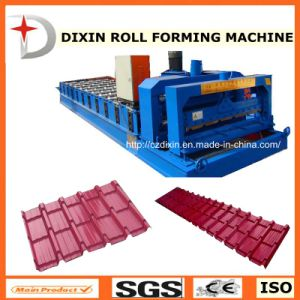 Dx Cheap Metal Roofing Roll Forming Machine pictures & photos