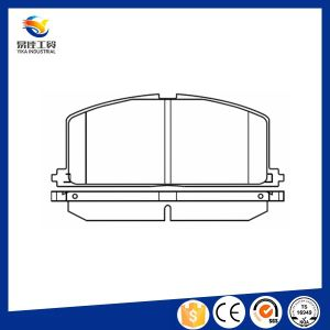Hot Sale Auto Brake Systems Camry Brake Pad pictures & photos