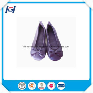 Latest Design Soft Sole Fancy Custom Ballerina Slippers pictures & photos