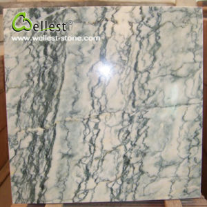 Lotus Green Veins Marble Polished Bathroom Floor Wall Cladding Tile pictures & photos