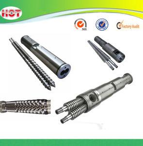 Bimetallic PVC Conical Twin Screw Barrel pictures & photos