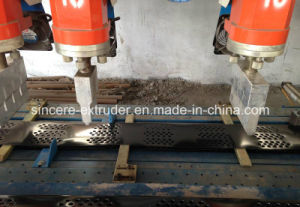 PE HDPE Geocell Extrusion Machine PE Drainage Sheet Producing Equipment pictures & photos