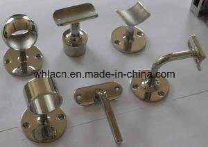 Stainless Steel Decorative Baluster Handrail Fitting / Stair Handrail Fitting pictures & photos