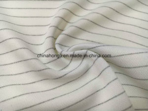 Single Pique 100%Poly, 180GSM, Knitting Fabric with Electric Wire for Sportswear with Antistatic pictures & photos