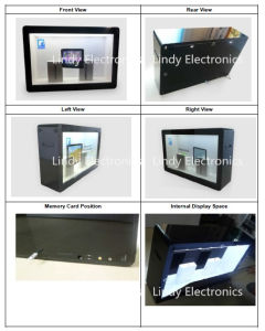 46inch Transparent LCD Ad Player Transparent LCD Showcase-Ad Player