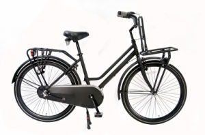 Euro City Bike with Front & Rear Carrier Black Color (HC-CT-2605) pictures & photos