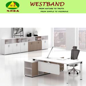2015 New Design Modern Cheap Alloy Wooden Executive Desk (WB-Bridge)
