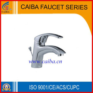 Single Handle Chrome Lavatory Faucet (CB-16201) pictures & photos