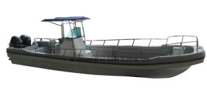 Aqualand 32feet 9.6m Fishing Panga Boat/Fiberglass Motor Boat (320PRO) pictures & photos