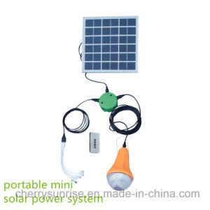 Global Sunrise Solar Power System Lighting Solar Camping Light pictures & photos