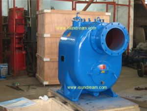 Self Priming Diesel Engine Trailer Water Pump pictures & photos
