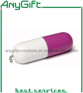 Pill-Shaped USB Key with Customized Color 02 pictures & photos