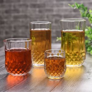 Classical Diamond Whisky Glass Cup Transparent Crystal Beer Glass pictures & photos