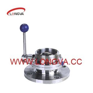 Flanged Threaded Butterlfy Valve Stainless Steel Valve pictures & photos