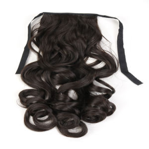 Wrap Around Human Hair Ponytail, Hair Accessories Ponytail pictures & photos