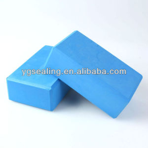 Yoga Brick New Pilates Foam Block Stretch Aid Exercise Gym Blue Color pictures & photos
