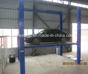 CE Approval Portable Hydraulic 4 Post Car Lift pictures & photos