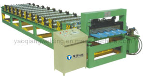 Glazed Roof Tile Forming Machine with Good Quality pictures & photos