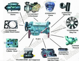 Sinotruk HOWO Parts Engine Piston Four Supporting pictures & photos