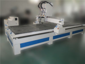 High Speed Double-Spindles Woodworking Engraver Router pictures & photos