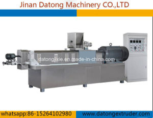 Slg85 Double Screw Food Extruder pictures & photos