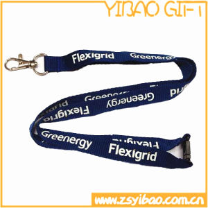 Wholesale High Quality Nylon Lanyard with Metal Hook (YB-l-006) pictures & photos