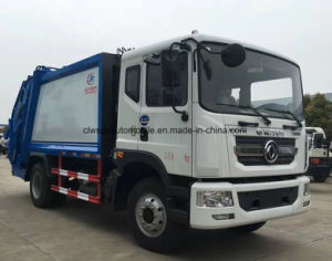 Dongfeng 15t LHD Refuse Truck 15 Cubic Meters Garbage Truck Price pictures & photos