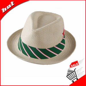 Woven Paper Hat Straw Hat Fedora Hat Sun Hat pictures & photos
