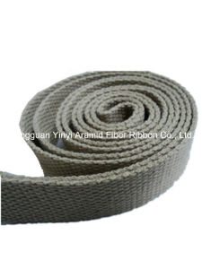 1 Inch Bead Khaki Sp Yarn Webbing pictures & photos