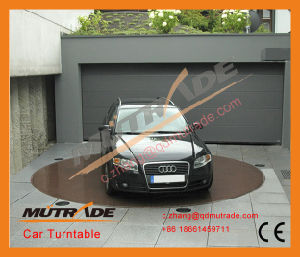 Auto Car Mobile Revolve Turntable Auto Turning System, Exhibition Showing Car Turntable Turn Table Car Turning Plate pictures & photos