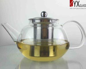 1000ml High-Borosilicate Glass Teapot with S/S Filter/ Glass Tea Kettle /Glass Tea Maker pictures & photos