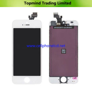 LCD Screen for iPhone 5 with White Digitizer Touch Screen pictures & photos