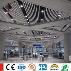 U Baffle Ceiling Aluminum Square Tube Linear Baffle Ceiling Artist Ceiling pictures & photos