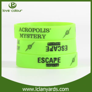 Promotion Silicone Bracelet Rubber Wristband with Bright Color pictures & photos