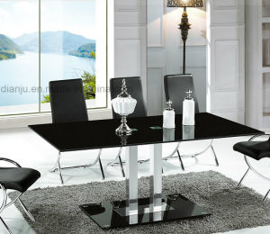 Special Design Black Top Dining Room Table (A2712) pictures & photos