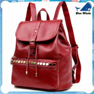 Free Shipping Low Price Women′s Backpack Knapsack Backbag pictures & photos