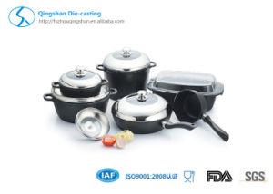 Aluminum Non-Stick Die-Casting Cookware Set Pan pictures & photos