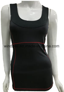 New Style Fitness Vest for Women with Back Across pictures & photos