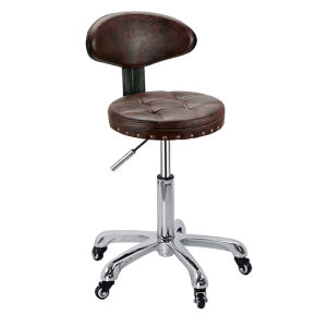 Adjustable Salon Stool Hydraulic Round Rolling Chair Tattoo Facial pictures & photos