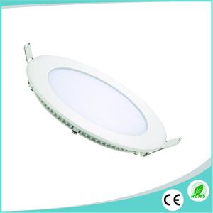 2017 Hot Sale 3W/6W/9W/12W/15W/18W/24W Ultra Thin Round LED Panel pictures & photos