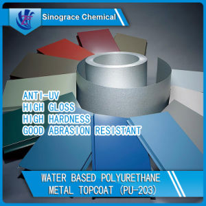 Anti-UV Polyurethane Dispersion Metal Topcoat pictures & photos