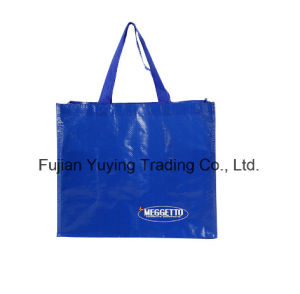 PP Fabric Handle Bag with Customized Printing (YYNWB065) pictures & photos